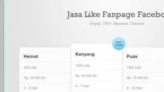 Jasa Like Fanpage Facebook