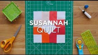Susannah Quilt Block - Quilt Snips Mini Tutorial