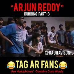 Arjun reddy funny spoof