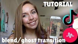 blended ghost transtition TUTORIAL for musical.ly/TIKTOK