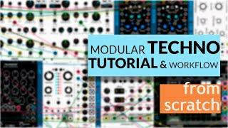 How to make Techno Track with Modular Synth (VCV Rack Tutorial)