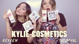 "KYLIE COSMETICS ""Kyshadow"" ""Lip Kits"" RESEÑA Y TUTORIAL!"