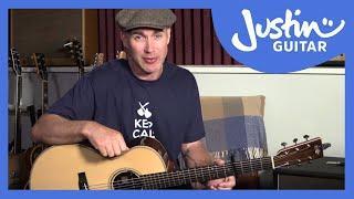 Ed Sheeran - Supermarket Flowers Guitar Lesson Tutorial - JustinGuitar