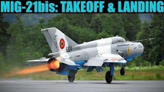 Mig-21bis: Taxi, Takeoff, Flight & Landing Tutorial | DCS WORLD
