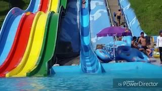Playing in Water park , fun park / funny videos
