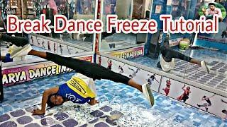 How To Learn Barak Dance Freeze For Beginner Tutorial { Sunny Arya } 2018
