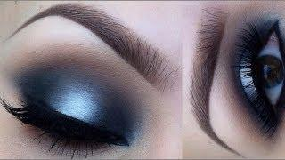 Matte Black And White Makeup Tutorial