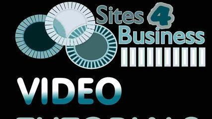 Sites4Business-Intro Tutorial Explaining Basic Usage.