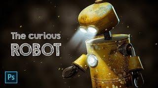 The Curious Robot PHOTO MANIPULATION Tutorial