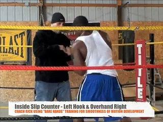 Coach Rick Mittology - Tutorial Boxing's inside Slip / Feints / Movement / Technical Mittwork,