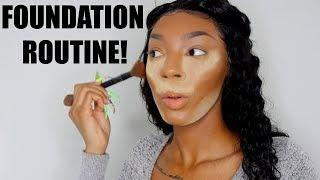 MY FLAWLESS FOUNDATION ROUTINE (Detailed Tutorial)