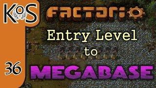 Factorio: Entry Level to Megabase Ep 36: COPPER TRAINS ARRIVE - Tutorial Series Gameplay