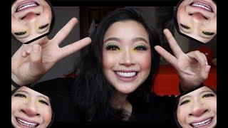 COLORFUL MAKEUP CHIT CHAT TUTORIAL inspired by LONDONTRIEU