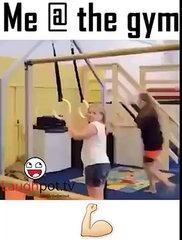 Me @ the gym funny video