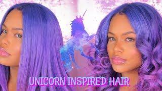 UNICORN HAIR TUTORIAL!! | Her Hair Company
