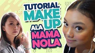 NAU VLOG #36 - Tutorial+Tips Makeup Manggung By Mama Nola!