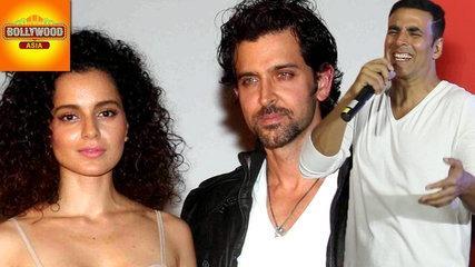 Akshay Kumar FUNNY Reaction On Kangana - Hrithik's Battle   Bollywood Asia