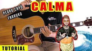 Cómo tocar Calma de Pedro Capó Ft Farruko en Guitarra | Tutorial + PDF GRATIS