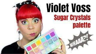 Violet Voss Sugar Crystals palette | First impression, swatches & tutorial