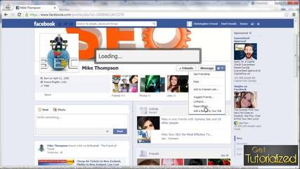 Basic Tutorials - How To Block Someone On Facebook _ 2014 _ How To Block People On Facebook