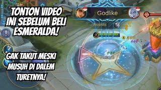 TUTORIAL HERO ESMERALDA MOBILE LEGENDS - GINI CARA PAKEKNYA ! Build, spell, Combo Hero
