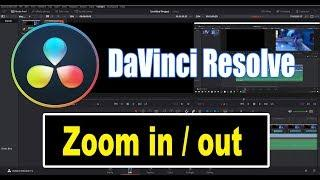 DaVinci Resolve 15 Tutorial - Zoom In and Out Ken Burns Effect