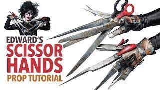 Edward's Scissorhands prop tutorial