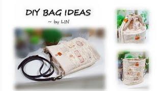 DIY BAG IDEAS~ SUPER LOVELY~ SLING BAG TUTORIAL #HandyMum