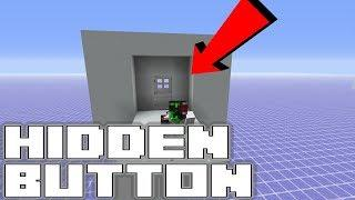 Minecraft Secret Hidden Switch - Easy & Invisible - Tutorial