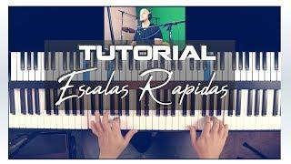 Escalas Rápidas En Piano - Tutorial De Piano