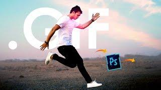 Attractive Animation .GIF banner in Photoshop – Hindi Tutorial