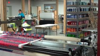 REPLAY: Take a  tour of machine quilting at Missouri Star with Misty and Becky! (Video tutorial)