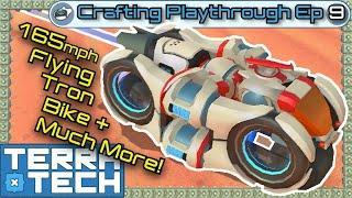 TerraTech - Hybrid Hover-Bug Racers - Tutorial & Gameplay - Ep 9 [1.0.3 to 1.1]