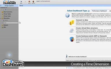 3.1.2 Creating a Time Dimension - Dundas Dashboard Tutorials Series 3