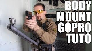 AIRSOFT | TUTORIAL | TBC | BODYMOUNT GOPRO ( ENGLISH SUBS )