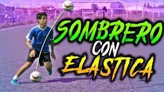 SOMBRERO con ELASTICA!-TUTORIAL de REGATES y JUGADAS Para burlar a tu rival en partidos futbol