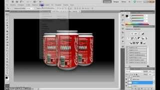 Photoshop Tutorial Italiano Creare Una Lattina 3D Personalizzata In Photoshop CS5