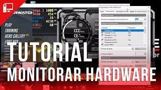 Como monitoramos o hardware em nossos vídeos? Tutorial do MSI Afterburner e RivaTuner