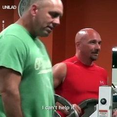 The Funny Guy Making Strange Noises In The Gym