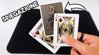 MAGIA FACILE E VELOCE CON FINALE BELLO / Spiegazione gioco di magia / Tutorial