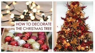 How To: Decorating My Christmas Tree Tutorial | Shonagh Scott