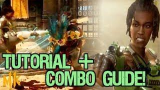 Jacqui Briggs Mortal Kombat 11 Beginner Character Guide and Combo Tutorial! [1st Round KO Variation]