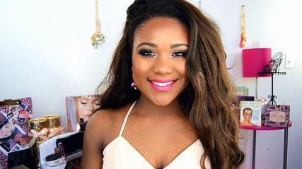 Spring Makeup Tutorial 2015 I Pop Of Color Makeup Tutorial + Bold Pink Lips