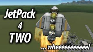 KSP 1.2 Jetpack for two (Tutorial: 31) - Kerbal Space Program Stock Parts, No mods