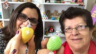 Bolitas de Navidad a crochet / Amigurumi ¡Tutorial en vivo!