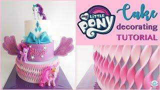 MY LITTLE PONY CAKE DECORATING TUTORIAL | Abbyliciousz The Cake Boutique