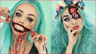 10 Scary Halloween Makeup Ideas That Look Too Real