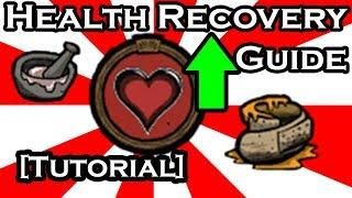 DON'T STARVE GUIDE - EASY HEALING METHODS (TUTORIAL)